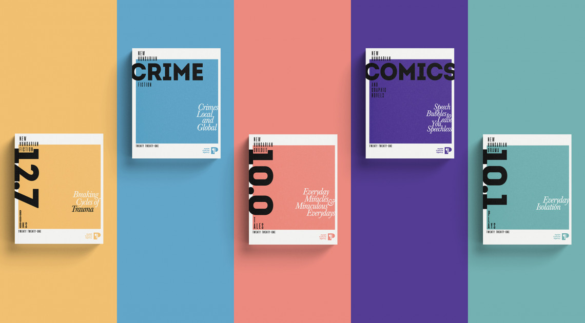 The Petőfi Cultural Agency presents a new catalogue of graphic novels and crime fiction